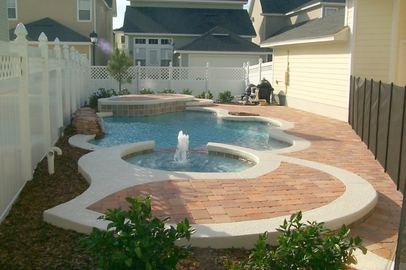 Freeform pool design orlando pool design windermere for Sundecks designs