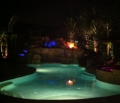 Freeform-pool-with-color-LED-fiber-lighting-and-fire-bowl