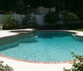 Freeform_pool_raised_spa_acrylic_deck_with_old_Chicago_brick_coping