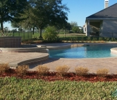 Freeform_pool_with_raised_spa_and_wall_stamped_concrete_deck